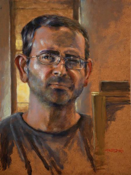 Painting - Self Portrait November 2015 by Christopher Reid