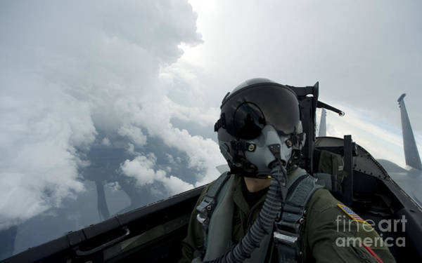 National Guard Photograph - Self-portrait Of An Aerial Combat by Stocktrek Images