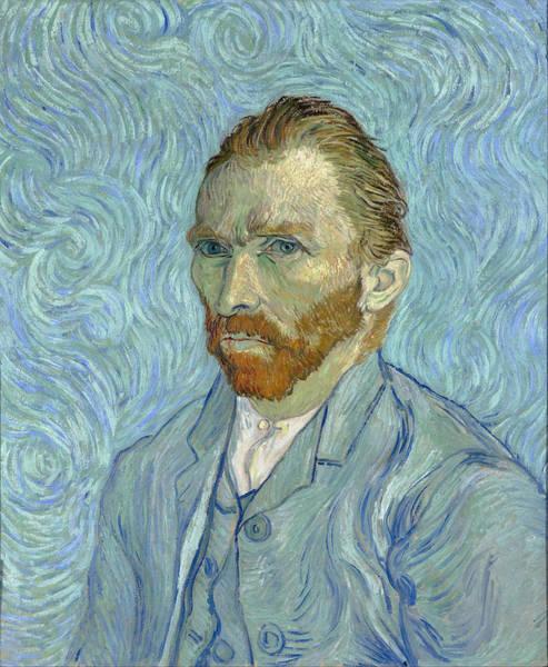 Selfportrait Painting - Self Portrait - Orsay, 1889 by Vincent Van Gogh