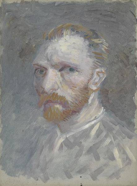 Painting - Self-portrait Paris, July   August 1887 Vincent Van Gogh 1853  1890 by Artistic Panda