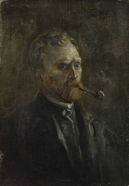 Painting - Self Portrait Paris March  June 1886 Vincent Van Gogh 1853  1890 by Artistic Panda