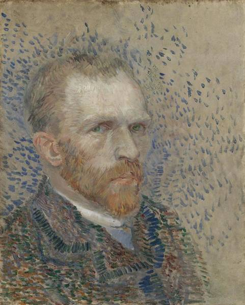 Painting - Self-portrait Paris, March  June 1887 Vincent Van Gogh 1853  1890 by Artistic Panda