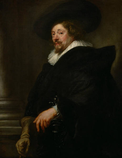 Painting - Self-portrait by Peter Paul Rubens