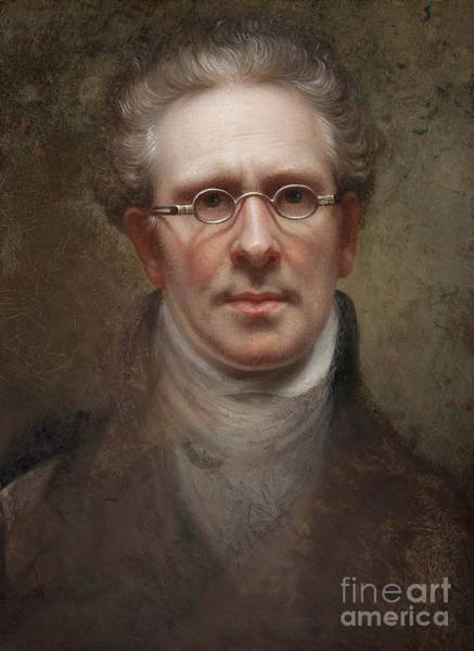 Wall Art - Painting - Self Portrait by Rembrandt Peale
