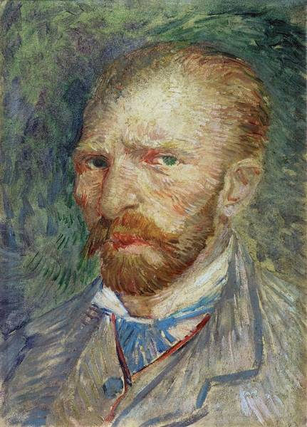Wall Art - Painting - Self-portrait by Vincent Van Gogh