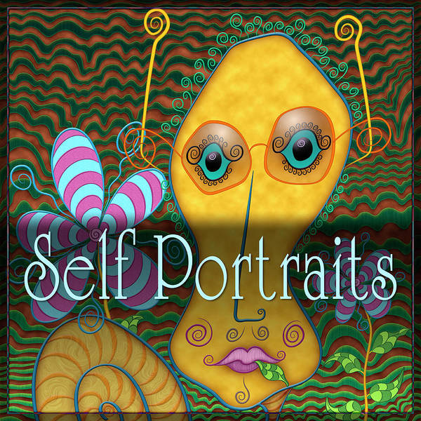 Digital Art - Self Portraits by Becky Titus