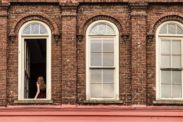 Photograph - Selfie In The Window by Sharon Popek