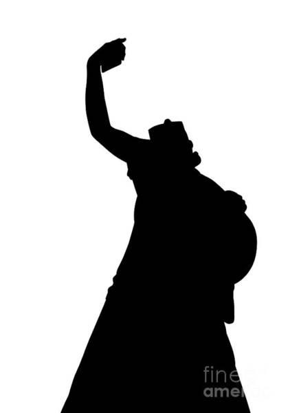 Digital Art - Selfie Woman Backlight by Benny Marty