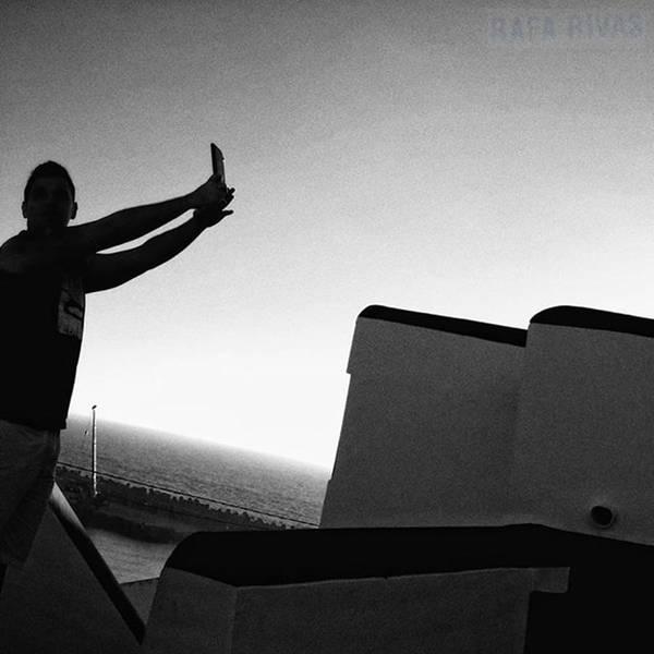 Sea Photograph - Selfieing  #selfie #people by Rafa Rivas