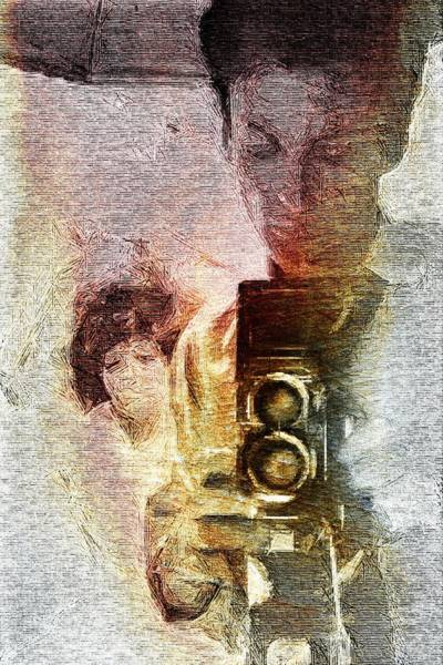 Wall Art - Digital Art - Selfportraiting by Andrea Barbieri