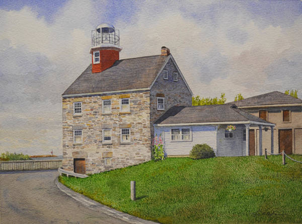 Painting - Selkirk Lighthouse by Tyler Ryder