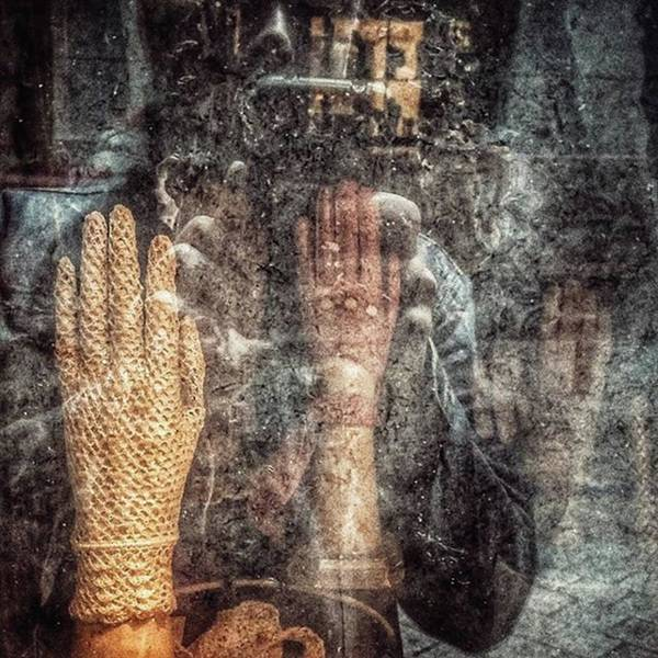 Wall Art - Photograph - Selportrait With Gloves  #hands by Rafa Rivas