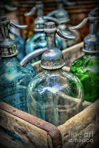 Wall Art - Photograph - Seltzer Bottles  by Paul Ward