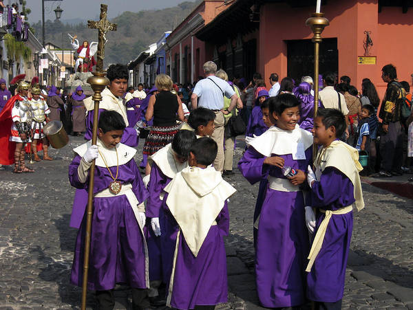 Photograph - Semana Santa Procession II by Kurt Van Wagner