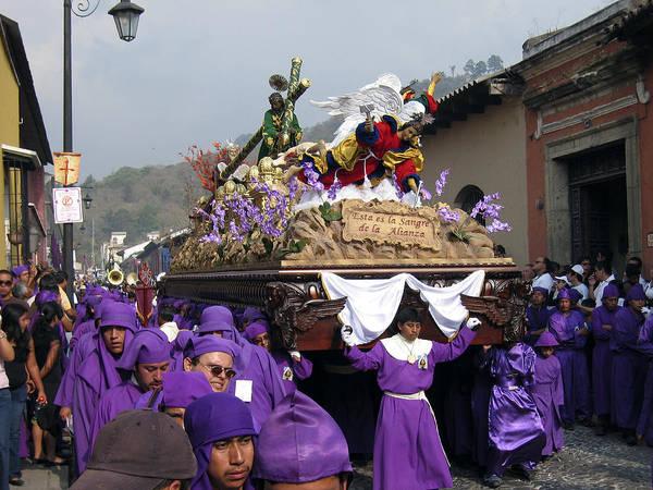 Photograph - Semana Santa Procession V by Kurt Van Wagner