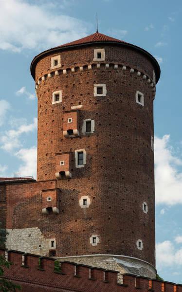Wall Art - Photograph - Senatorska Tower Of Wawel Castle Poland by Steve Gadomski