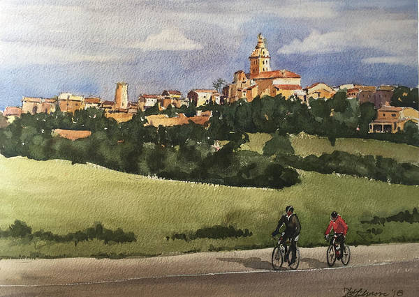 Painting - Sencelles, Mallorca by David Gilmore