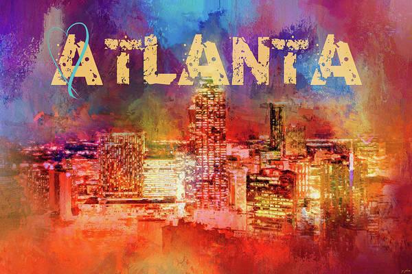Photograph - Sending Love To Atlanta by Jai Johnson