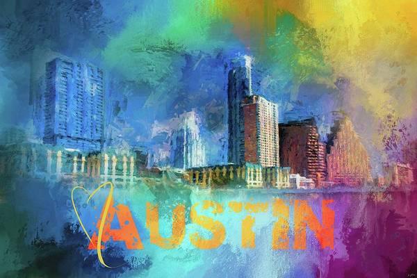 Photograph - Sending Love To Austin by Jai Johnson