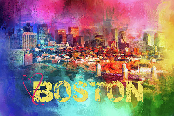 Photograph - Sending Love To Boston by Jai Johnson
