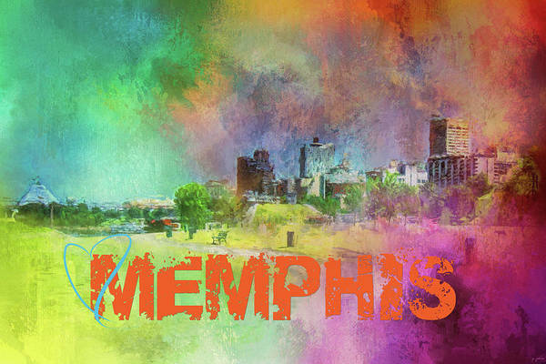 Photograph - Sending Love To Memphis by Jai Johnson