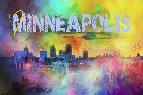 Photograph - Sending Love To Minneapolis by Jai Johnson