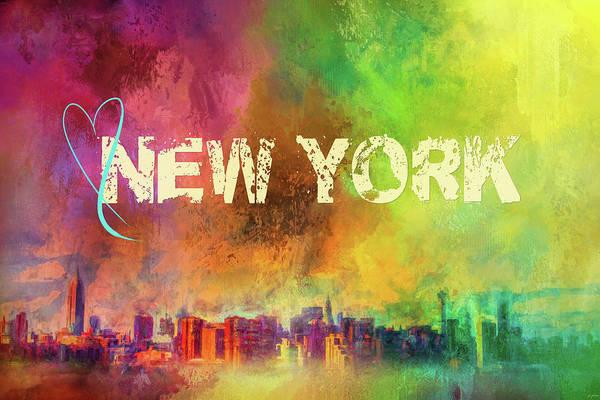 Photograph - Sending Love To New York by Jai Johnson