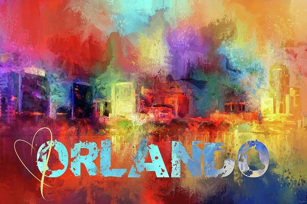 Photograph - Sending Love To Orlando by Jai Johnson