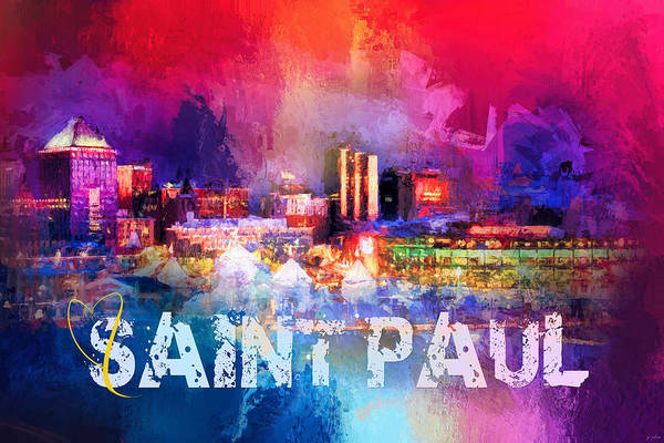Photograph - Sending Love To Saint Paul by Jai Johnson