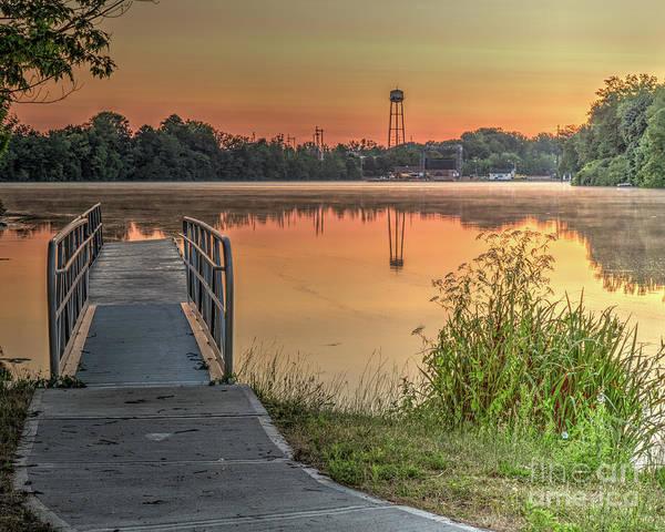 Photograph - Seneca Falls Sunrise by Rod Best