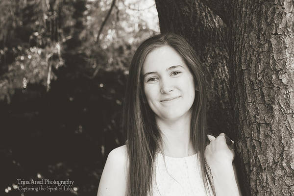 Photograph - Senior Portrait by Trina Ansel
