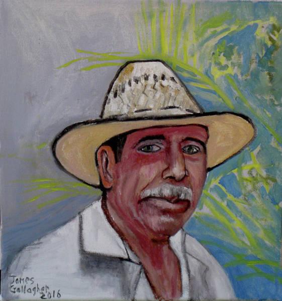 Wall Art - Painting - Senor Ventura by James Gallagher