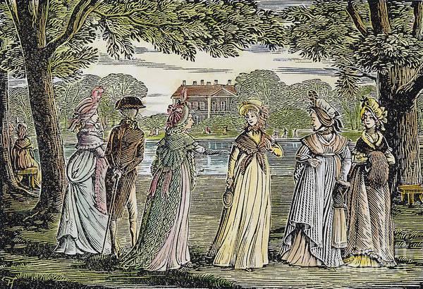 Jane Austen Wall Art - Photograph - Sense & Sensibility, 1811 by Granger