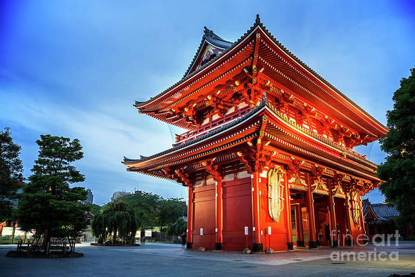 Wall Art - Photograph - Sensoji Temple by Jane Rix