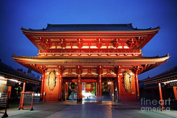 Wall Art - Photograph - Sensoji Temple Tokyo by Jane Rix
