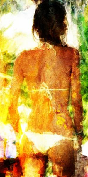 Wall Art - Digital Art - Sensual Back by Andrea Barbieri