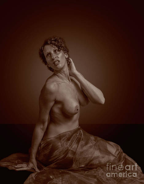 Photograph - Sensual Nude by Nigel Dudson