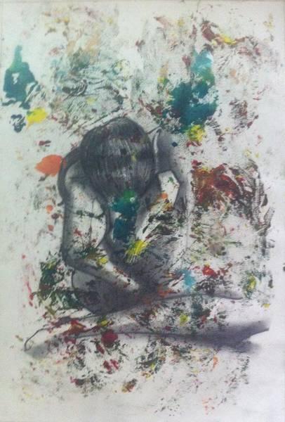 Painting - Sentimientos Encontrados by Carlos Paredes