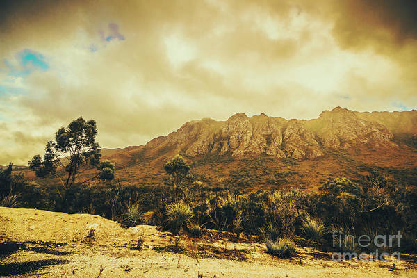 Range Photograph - Sentinel Range Tasmania by Jorgo Photography - Wall Art Gallery