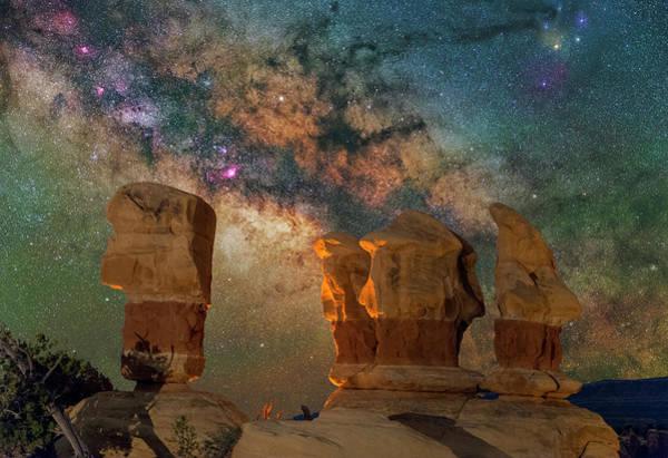 Sentinels Of The Night Art Print