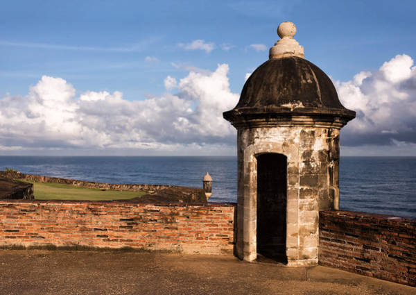 Sentry Box Photograph - Sentry Boxes Of Old San Juan by Carter Jones