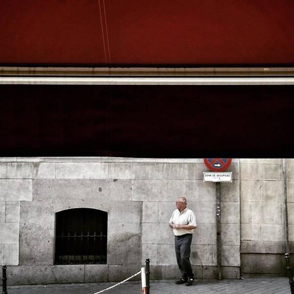 Wall Art - Photograph - Señor #man #señor  #street  #city by Rafa Rivas