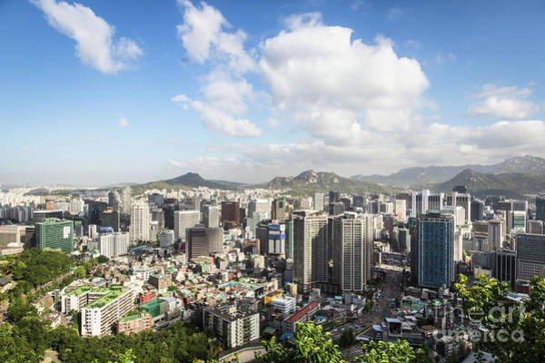 Photograph - Seoul Cityscape On A Sunny Day by Didier Marti