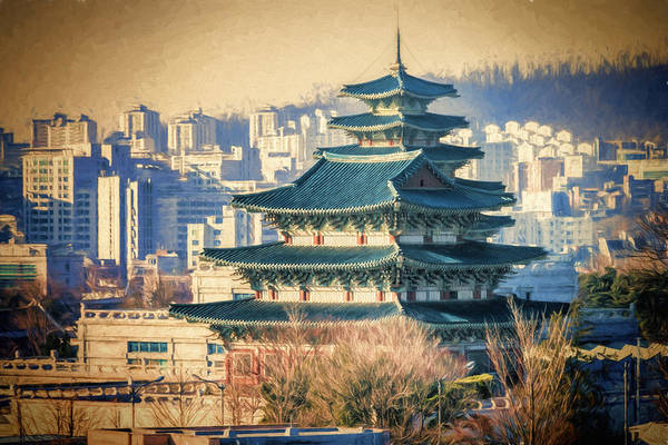 Photograph - Seoul by Joan Carroll