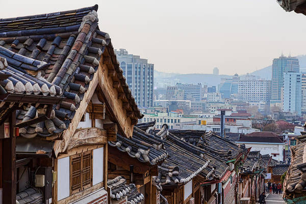 Photograph - Seoul Korea Old And New by James BO Insogna