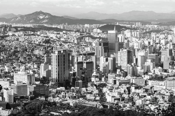 Photograph - Seoul Skyline by Didier Marti