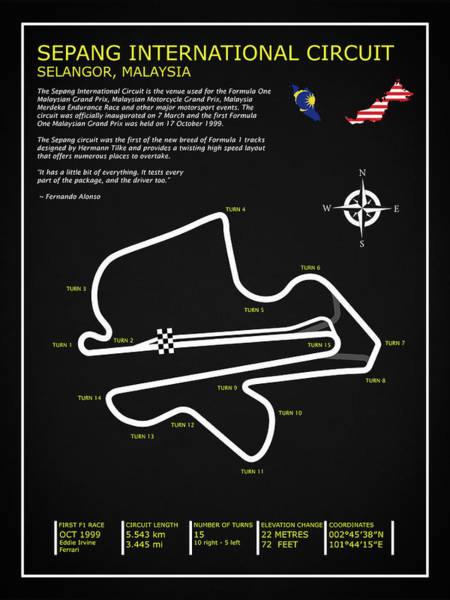 Wall Art - Photograph - Sepang International Circuit by Mark Rogan