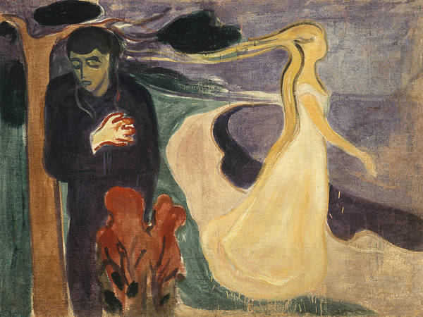Norwegian Painting - Separation by Edvard Munch