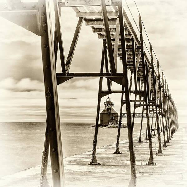 Photograph - Sepia Catwalk by David Heilman