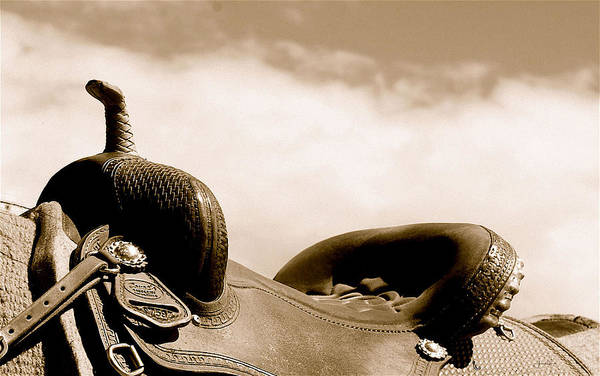 Photograph - Sepia Saddle by Amanda Smith